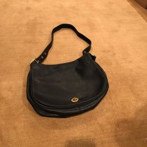 Vintage Coach 9718 Leather Hobo Bag